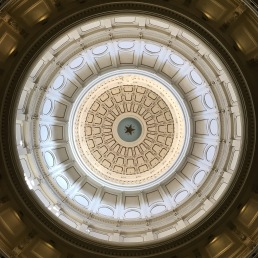 At the Texas State Capitol.