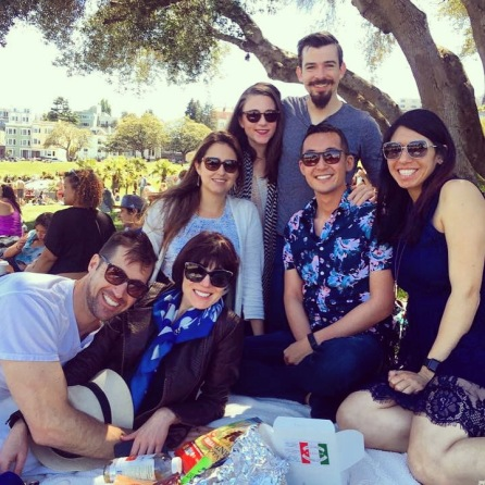 The BAL crew hanging at Dolores.